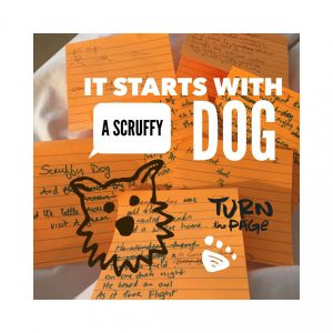 New forthcoming book about a scruffy dog