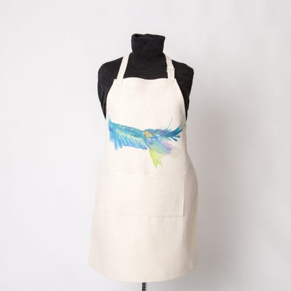 blue eagle on apron
