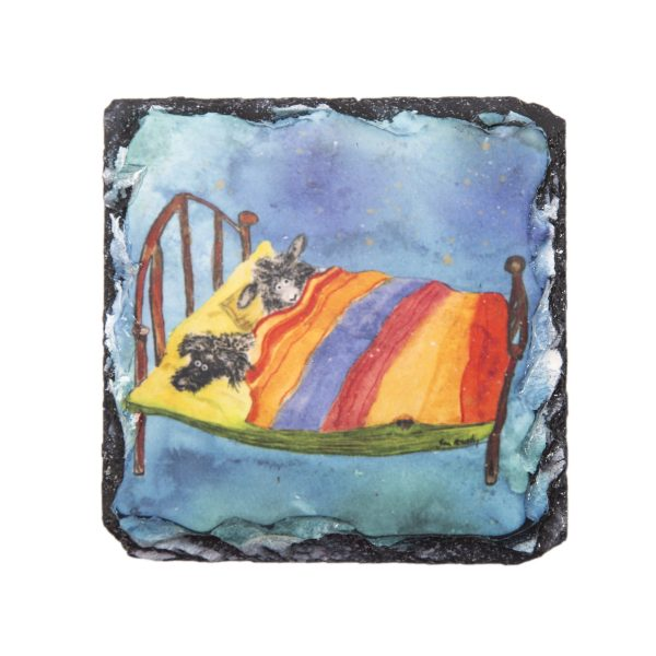 slate coaster by Joan Kennedy Artist