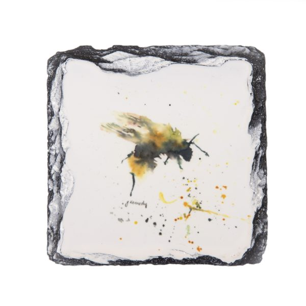 abstract bee slate