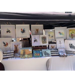 Joan Kennedy at Uttoxeter Makers Market