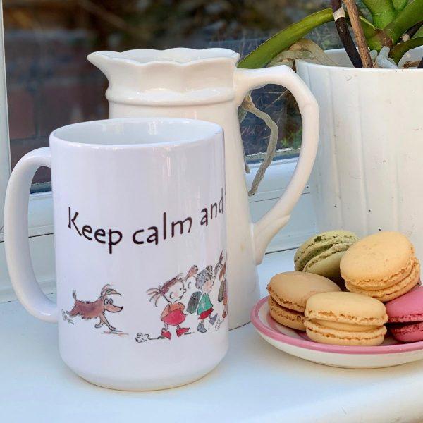 white ceramic mug teacher gift