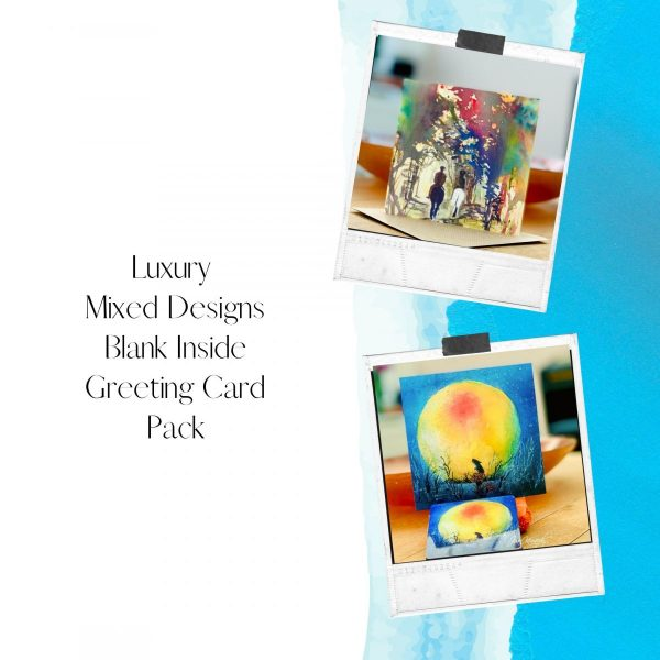luxury greeting card pack
