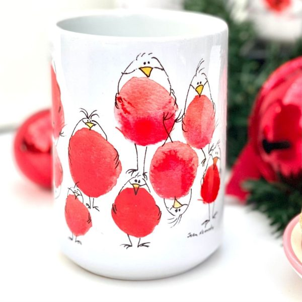 robin bird christmas gift idea