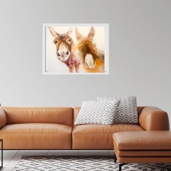 donkey print