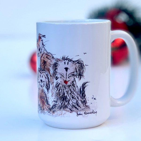 gorgeous dog mug